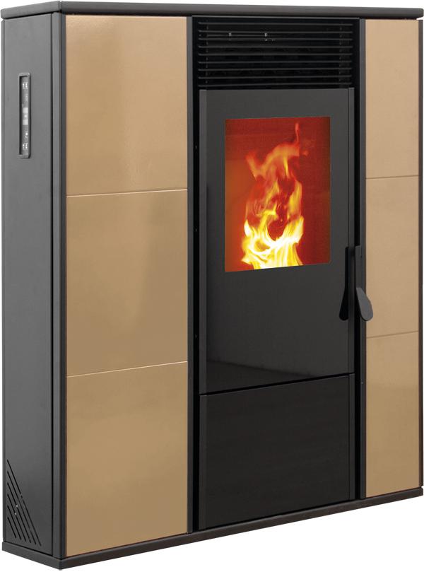 estufa pellet aire 12 slim 14 3 kw coalce renovables